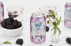 Fruity Calorie-Free Sparkling Waters - The New Zevia Sparkling Waters Include a Blackberry Flavor