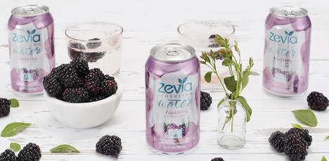 Fruity Calorie-Free Sparkling Waters