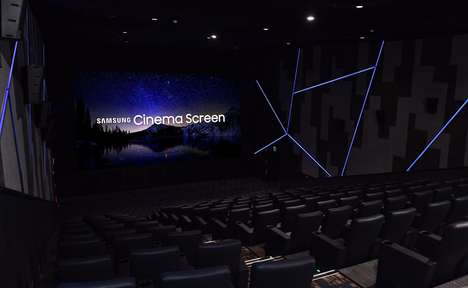 4K Cinema Screens - The Samsung Cinema LED Screen Aims to Replace Traditional Projectors