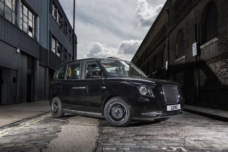 Modernized Urban Taxis - London's Black Taxi Cab Will Have More Electric Power Than Before