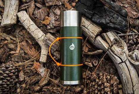The MIZU V10 Water Bottle is Specially Designed with a Copper Finish