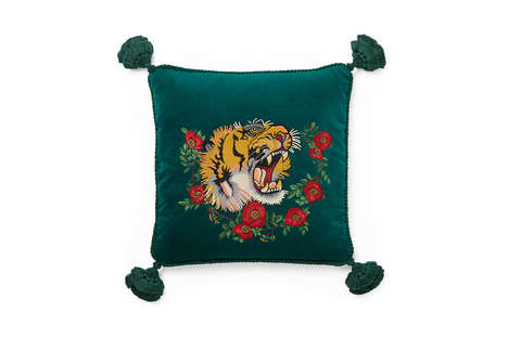 Eclectic Luxury Homeware Lines - The 'Gucci Décor' Home Accessories Collection is Bold and Bright