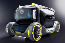 Conceptual Futuristic Family Vehicles