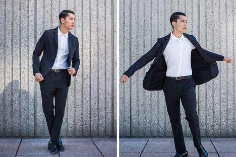 Breathable Waterproof Suit Jackets