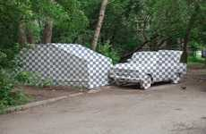 Painted Illusion Cars