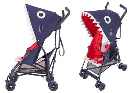 Shark-Shaped Strollers