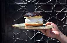 Special Gelato Donut Sandwiches - The 'Death & Glory' is Only Available Through foodora Toronto