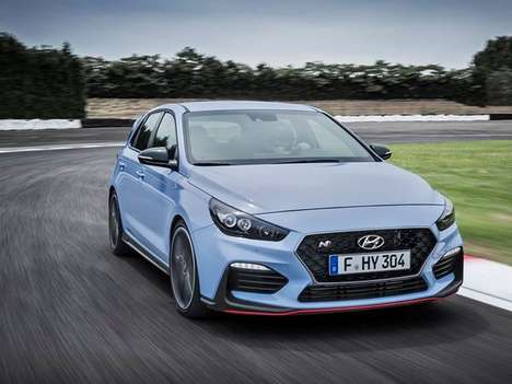 Tuned South Korean Hatchbacks - The Hyundai i30 N is the Brand's First True Hot Hatch