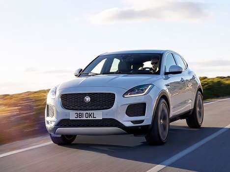 Downsized British Luxury SUVs - The All-New Jaguar E-Pace Was Inspired by the Larger F-Pace