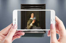 Augmented Reality Museum Apps - 'Reblink' Brings Classic Historic Paintings to Life