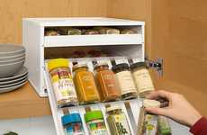 Cabinet Spice Storage Drawers