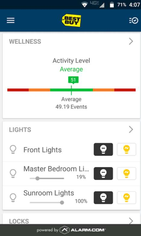 Senior Smart Home Services - Best Buy's 'Assured Living' is a Notification Service for Caretakers