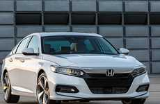 Redesigned Fastback Sedans - The 2018 Honda Accord Has an All-New Look and Engines