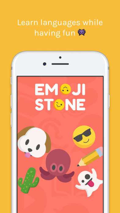 Emoji-Based Language Apps - The Emoji Stone App Uses Emoticons to Teach Foreign Words and Phrases