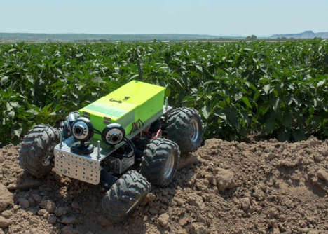 Crop-Monitoring Robots - The 'AGRowBot' Keeps an Eye on Crops on Small and Medium-Sized Farms