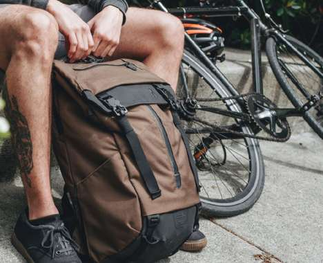 Versatile Urban Backpacks