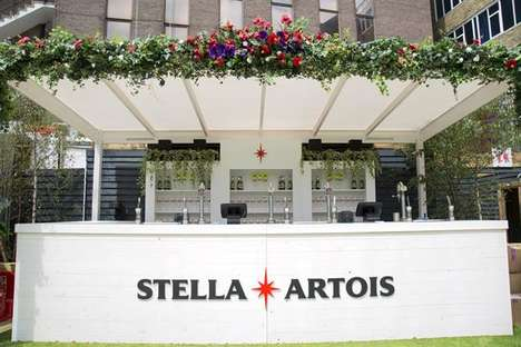 Bespoke Wimbledon Beer Pop-Ups - The Stella Artois Vantage Point Was Present at Wimbledon 2017