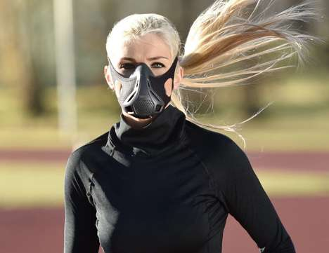 Respiratory Performance Masks - The 'TrainingMask 3.0' Breathing Trainer Improves Lung Performance