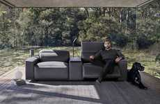 Vehicle-Inspired Sofas - The King Cloud III Sofa by King Living is Made with Premium Materials