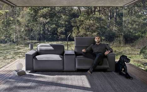 The King Cloud III Sofa by King Living is Made with Premium Materials