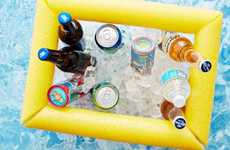 DIY Pool Coolers - This Floating Cooler Can Be Made for Less Than $10