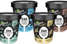 Satisfying Low-Calorie Ice Creams - The New Breyers Delights Low-Fat Ice Creams are High in Protein