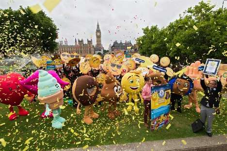 Record-Breaking Emoji Events - Sony Pictures Set Up a Fun Stunt to Promote The Emoji Movie