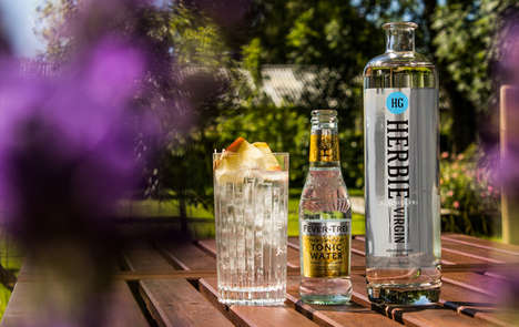 Non-Alcoholic Gin Spirits - Herbie's Herbie Virgin is Branded as the First of Its Kind in the World