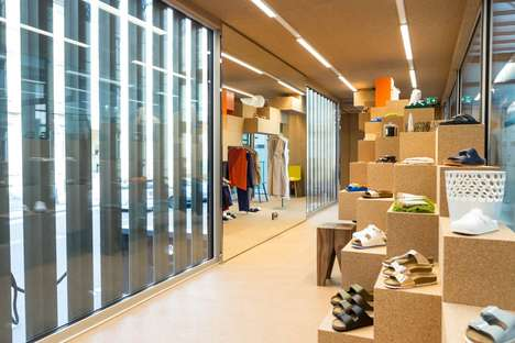 The Pop-Up Birkenstock Store is Located Inside a Shipping Container