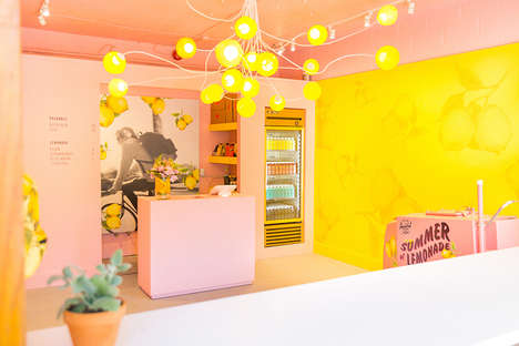 Pop-Up Lemonade Stores - Herschel Supply's Pop-Up Lemonade Stand Supports Arts Education