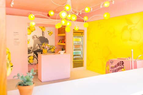 Pop-Up Lemonade Stores