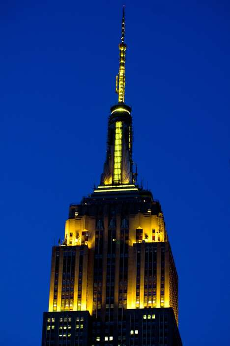 Urban Emoji Celebrations - The Empire State Building Will Glow Yellow for World Emoji Day