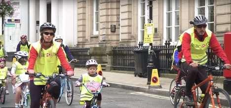Traffic-Free Urban Cycling Events