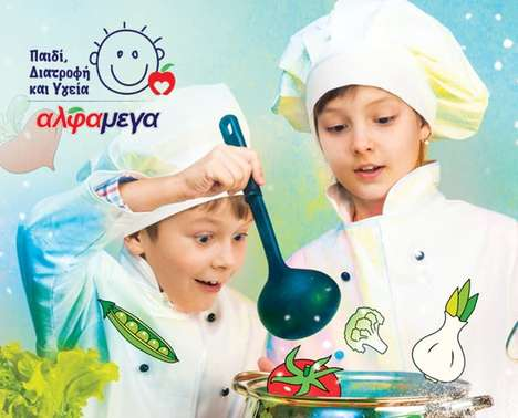 Kid-Friendly Cooking Workshops - The Little Chef's Cooking Event Teaches Kids About Proper Nutrition