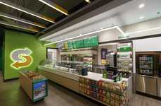 Redesigned Fast Food Chains - Subway Stores Will Now Feature More Modern and Health-Focused Designs