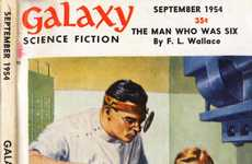 Free Retro Sci-Fi Magazines - 'Galaxy Magazine' is Now Available on Archive.org