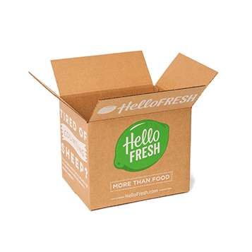Sustainable Meal Delivery Kits - The Meal Delivery Service HelloFresh Offers an Eco-Friendly Box