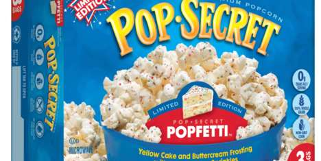 Funfetti Popcorn Flavors - Pop Secret's New 'Popfetti' Popcorn Tastes Like a Funfetti Birthday Cake