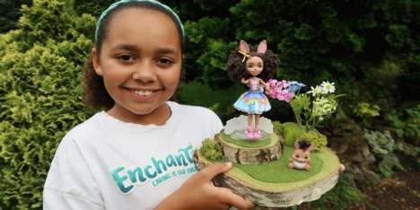 Personalized Woodland Dolls - Enchantimals and Tiana from 'Toys AndMe' Launched a Customized Doll