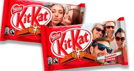 Custom Candy Contests - This Contest Lets Fans Win a Personalized KitKat with Their Picture on It