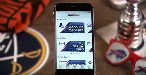 Pro Sports Rewards Apps - 'My One Buffalo' Gives Sabres and Bills Fans Integrated Features