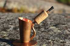 Coffee-Brewing Pipes - The Bripe Coffee Brew Pipe Lets You Enjoy a Fresh Cup Anywhere