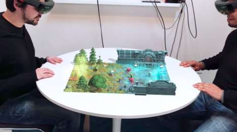 Mixed-Reality Board Games