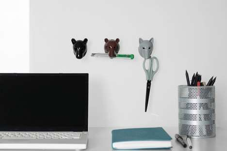 Biting Storage Clips - AniBites are Multi-Use Storage Clips Designed as Animal Heads