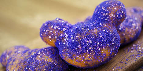 Blackberry-Flavored Beignets - Mickey-Shaped Blackberry Beignets are the Newest Disneyland Treat