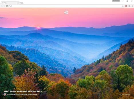 Adventurous Photography Extensions - The Mustsee Chrome Extension Gives Users Travel Photographs
