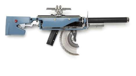 Machine Gun Typewriters