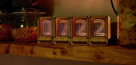 Modernized Nixie Tubes - The Nixie Pipe is a Reliable Interfacing Version of a Cold Cathode Display