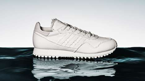 Raw Archaeological Runners - Daniel Arsham's Archaeological Shoes are Inspired by Cultural Artifacts