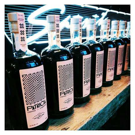 Bold Dutch Coffee Liqueurs - The New Patricia Coffee Liqueur is Made from Jenever and Botanicals